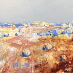 SOLD Distant Tailings - Acrylic on Canvas 83x113cm