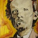Malacki Reidy Meagher 1833-1906, a convict made good. Acrylic on Canvas - 610x460mm