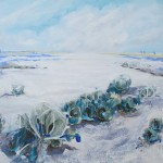 SOLD Salt Flats - Acrylic on Canvas 76x91cm