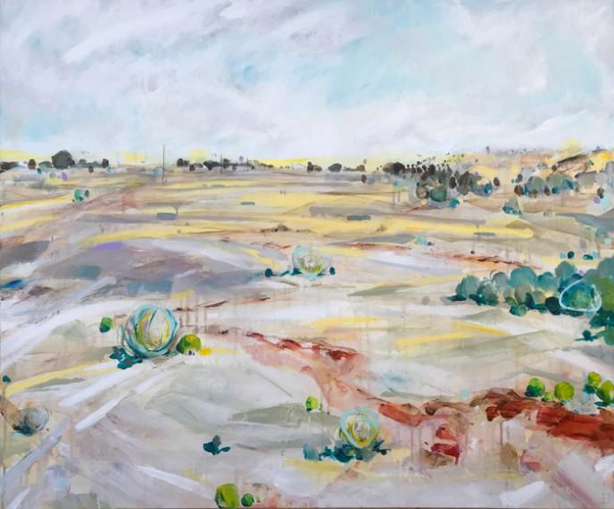Shit Creek - Acrylic on Canvas 76x91cm