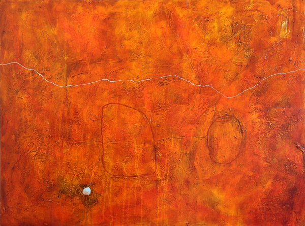 SOLD - Skull Creek - Acrylic on Canvas  - 84x112cm